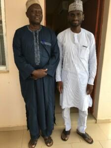 Dr. Wara (left) and Dr. Abubakar (right) at the Gesse VVF Center, Birnin-Kebbi, Kebbi State, Nigeria. Photo Credit: Morgan Mickle